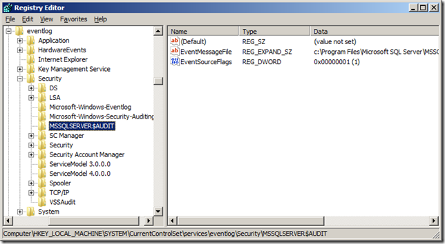 Resolving Error 33204 SQL Server Audit could not write to the security log   image thumb