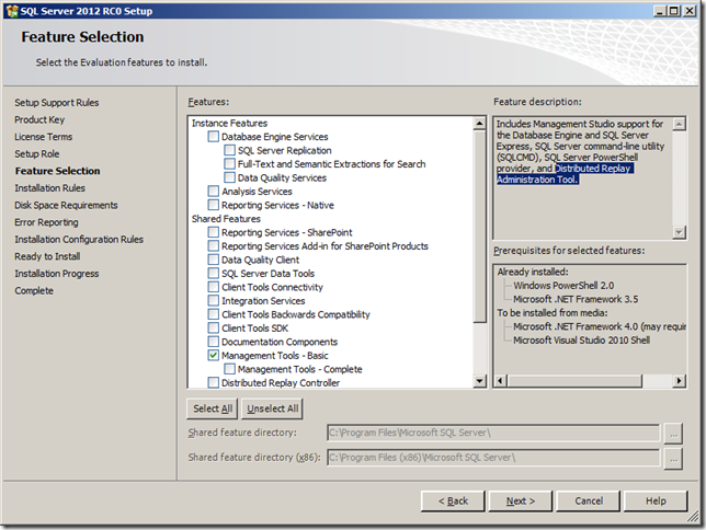 Performing a Distributed Replay with Multiple Clients using SQL Server 2012 Distributed Replay   image thumb