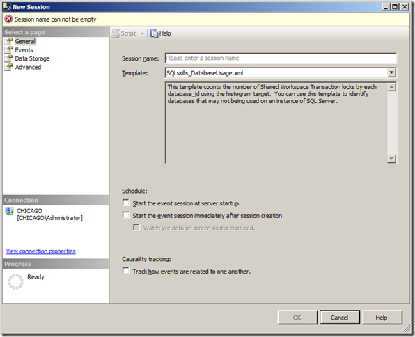 Customizing Extended Events Templates in SQL Server 2012   image thumb
