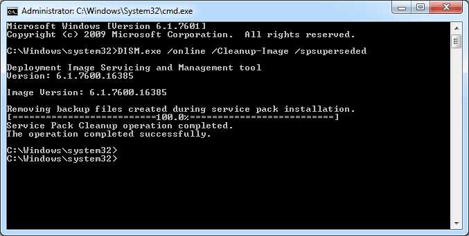 How to Reclaim Disk Space in your Windowswinsxs directory ...