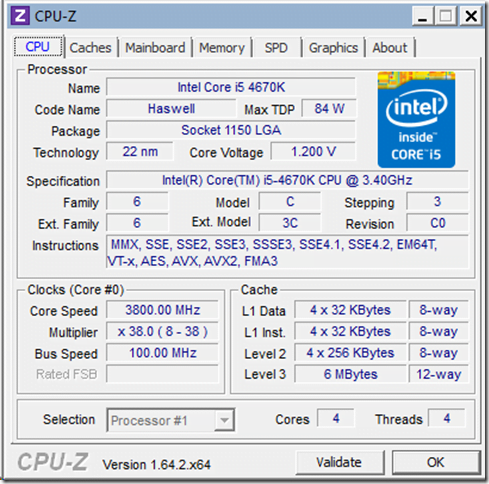image thumb First Intel Haswell Desktop Build