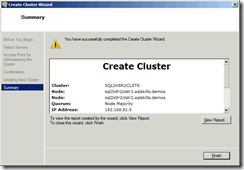 Building a Completely Free Playground for SQL Server   4   Creating the Cluster   image thumb68 thumb 
