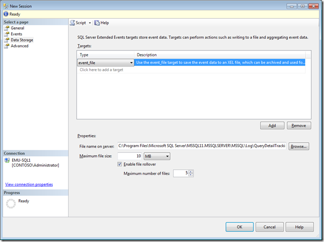 SQL Server 2012 Extended Events Update   3   Viewing Target Data   image thumb