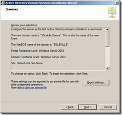 Building a Completely Free Playground for SQL Server – 2 – Setting up Active Directory and the iSCSI Virtual SAN   image thumb