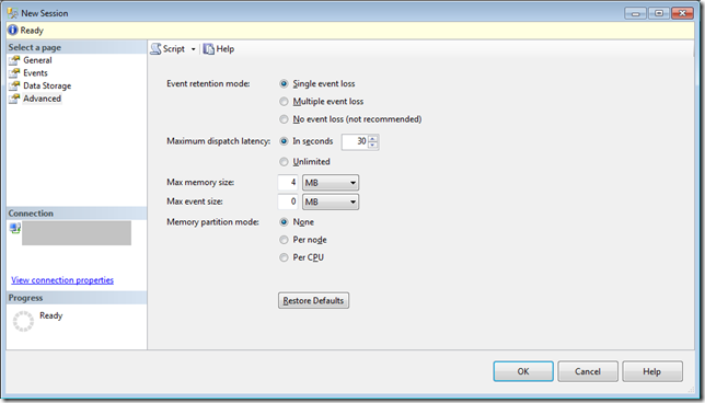 SQL Server 2012 Extended Events Update   2   The SSMS UI Part 2   image thumb