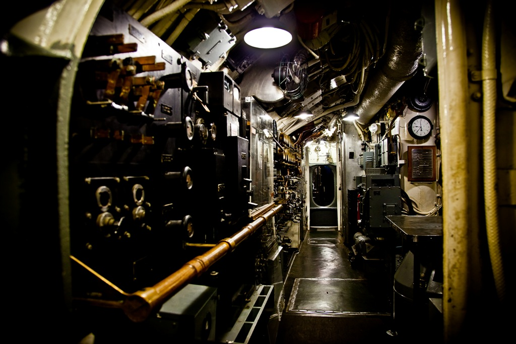 Photos of the USS Silversides WWII submarine - Paul S. Randal