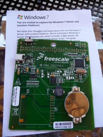 freescale I like it when people send me electronics