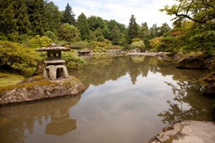 smallimg 1980 Photos: Japanese Garden at Seattle Arboretum