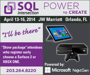 SQL SP14 300x250 v2 Spring SQLintersection Conference in Orlando