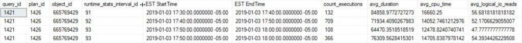 StartTime and EndTime converted
