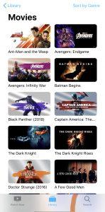 A few movies...