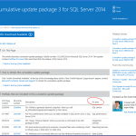 Small Enhancement to Microsoft SQL Server CU Knowledge Base Articles