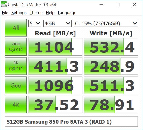 Some Quick Comparative CrystalDiskMark Results - Glenn Berry