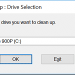 Windows Disk Cleanup
