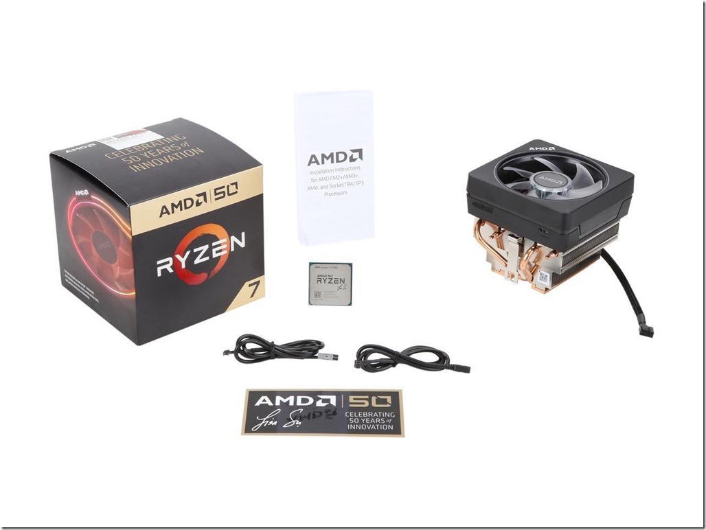 AMD Ryzen 7 2700X Package