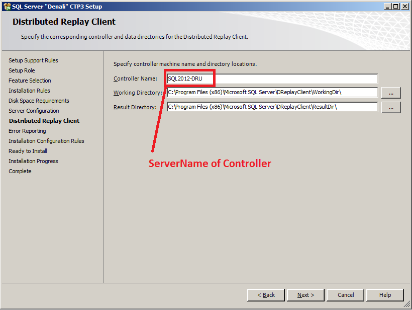 Installing and configuring sql server 2012 distributed for Distributed configuration