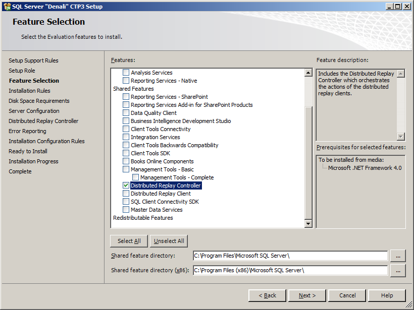 Installing and Configuring SQL Server 2012 Distributed Replay