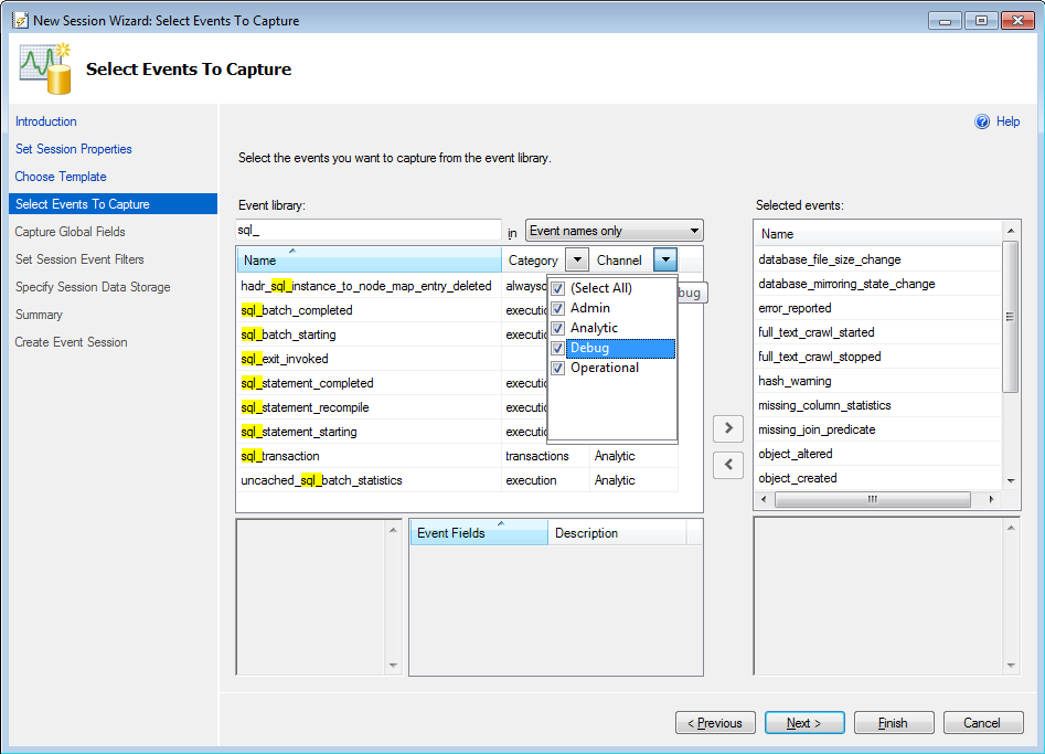 SQL Server 2012 Extended Events Update - 1- Introducing the