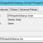 Configuring SIOS DataKeeper for multiple volume snapshots