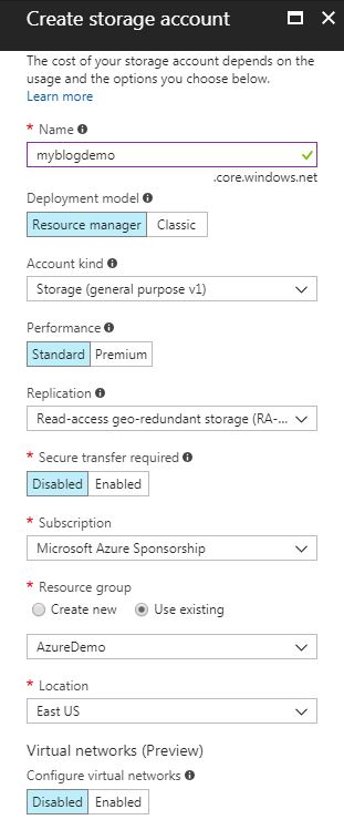 SQLskills SQL101: Using Backup to URL for Azure VM