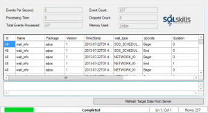 SQL Server 2012 XE Add-in TargetDataView